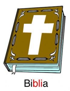 Biblia se escribe con Bli