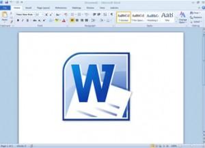 Procesador de palabras microsoft word